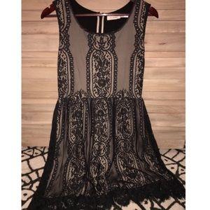 Blu Pepper Nordstrom Lace Dress (size L)